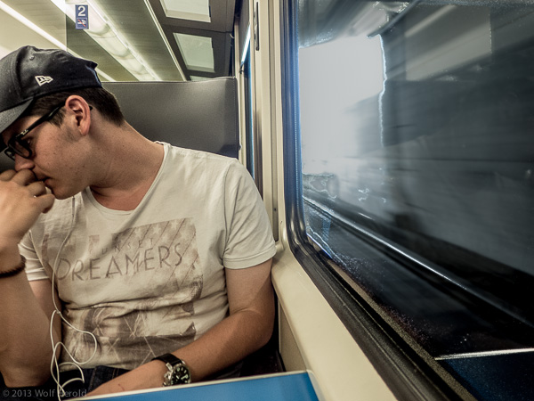 dreaming in trains